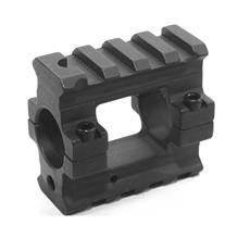 YHM AR15 removable gas block bolt on, double rail steel;.750 ID