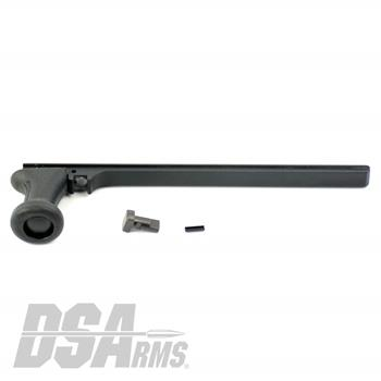 DSA FAL SA58 Extended Contour Lightweight Aluminum Metric Cocking Handle Assembly - Includes Handle, Lug and Pin