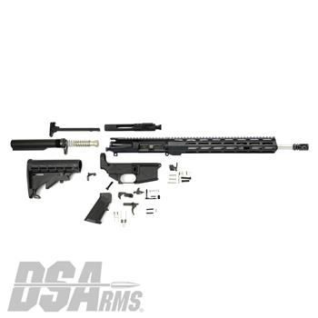 "DSA AR15 16"" S.S. Mid-Length 80% Lower Rifle Kit - Complete Kit Featuring 80% Lower"