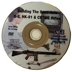 DVD build the AR-15 AGI armorer's course