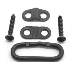 FAL (Israeli) rear sling swivel assembly with screws, for Israeli type wood stock only, new
