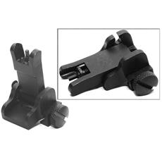 YHM Tall Gas Block Front Fold-down Sight