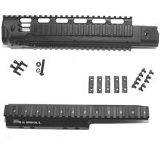 DSA FAL SA58 Metric Long Rail Handguard & Extended Extreme Duty Scope Mount Combination