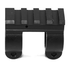 YHM AR15 single steel rail gas block .750 ID bolt on type - CLOSEOUT