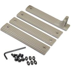 Griffin Armament AR15 Rail Shield M-LOK Cover Set - FDE