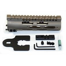 "Midwest Industries AR15 GEN III SS Series 7"" Rail Handguard - Flat Dark Earth"
