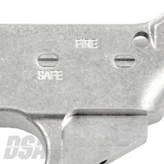 DSA AR15 80% Lower Receiver - Non Anodized DSA AR15 80% Lower Receiver -  Non Anodized