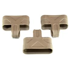 Magpul 7.62 / .308 Magazine Rubber Pulls - 3 Pack - FDE