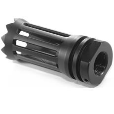 DSA AR15 WarZ Standoff Flash Hider - 5/8x24 - Pointed Edge