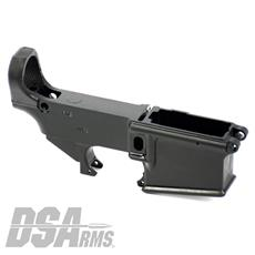 DSA AR15 80% Lower Receiver - Hard Coat Anodized