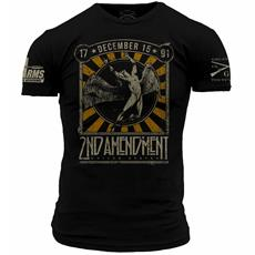 DS Arms & Grunt Style 2nd Amendment Custom T-Shirt - Large