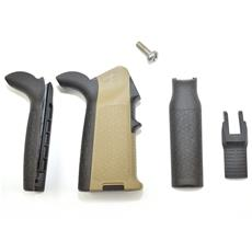 Magpul AR15 MIAD Pistol Grip - Custom FDE w/ Black Two Tone