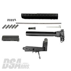 DSA FAL SA58 Pistol Lower Trigger Frame Build Kit - Scope Mount Included