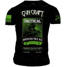 d87ecfe9a46 2nd Amendment Brewery - Gun Craft TACTICAL APA T-Shirt - Triple Extra Large