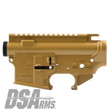 DSA ZM4 AR15 Enhanced Lower & Upper Receiver Set - DuraCoat Coyote DSA ZM4  AR15 Enhanced Lower & Upper Receiver Set - DuraCoat Coyote