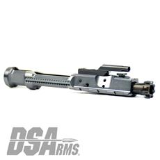 DSA AR15 Enhanced Low Mass Aluminum Sand Cut Complete Bolt Carrier Group - 5.56-.223-300 BLK