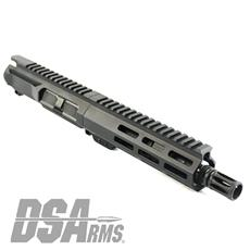 "DSA ZM4 AR15 Slim Series PDW 5.56 NATO Upper Receiver Assembly - 7.5"" Barrel"