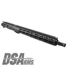 "DSA ZM4 AR15 Slim Series 5.56 NATO Upper Receiver Assembly - 16.25"" Knurl Fluted Chrome Lined 1:7 Twist Barrel"