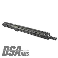 "DSA ZM4 AR15 Slim Series 5.56 NATO Upper Receiver Assembly - 16.25"" Knurl Fluted Stainless Steel 1:7 Twist Barrel"