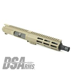 "DSA ZM4 AR15 Slim Series PDW 300 BLK Upper Receiver Assembly - 7.5"" Barrel - FDE Finish"