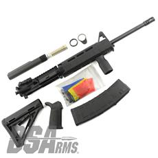 DSA ZM4 AR15 Custom Magpul Rifle Build Kit - Complete Upper Receiver Group, Lower Parts Kit, Buffer Tube Kit, Magpul Furniture