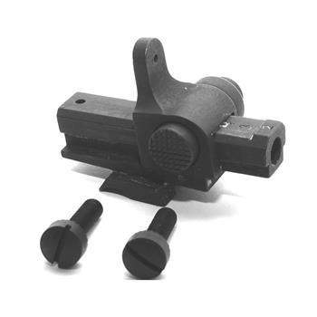 DSA FAL SA58 Metric Fixed Stock Rear Ramp Sight - Screws & Spring Included