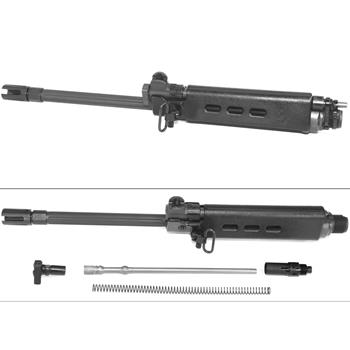 "DSA FAL SA58 16"" Complete Fluted Tactical Front End Assembly - Handguards & Gas System Included"