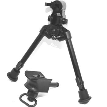 Versa-Pod model 2 bipod non skid rubber feet with universal mounting adapter