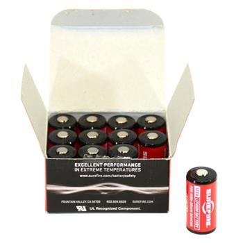 SureFire 123A lithium battery - Pack of 12