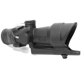 ACOG 4x32, calibrated for .308, full line red iIlumination, black crosshairs
