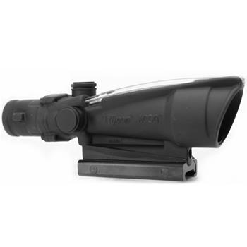 ACOG 3.5x35, calibrated for .223, dual illumination, red chevron, BAC, with flattop adapter