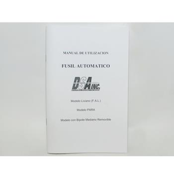 DSA FAL SA58 Spanish Owner's Manual - 45 Pages