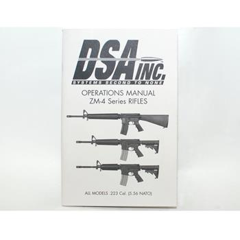 DSA AR ZM4 Series Owner's Manual - 29 Pages