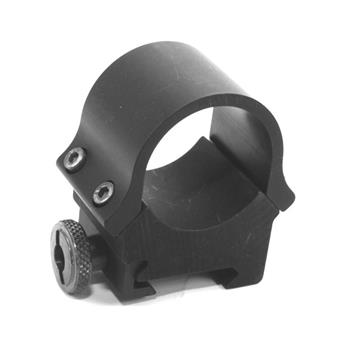 Aimpoint X-wide high weaver 30mm ring (for comp.m & Ml)  matte black