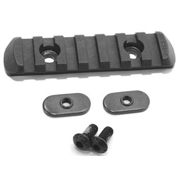 Magpul MOE L3 Polymer Rail Section - 7 Slot - Black