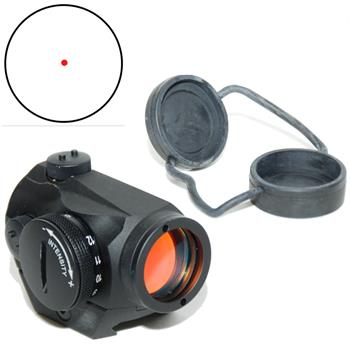 Aimpoint 11910, Micro H-1, Red Dot Sight, 4 MOA. Standard Mount