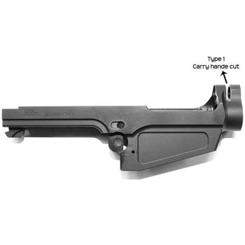 DSA SA58 Stripped Semi Auto FAL Receiver - Type 1 Carry Handle Cut