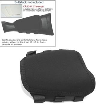 ITC Cheekrest - Customizable Padded Rest For Fixed Style Stocks ITC  Cheekrest - Customizable Padded Rest For Fixed Style Stocks