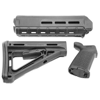 Magpul Furniture Set Moe M Lok Mid Handguard Moe Grip And Stock Magpul Furniture Set Moe M Lok Mid Handguard Moe Grip And Stock