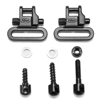 "Allen Sling Swivel Set for Bolt Action Rifle - 1"" Loop"