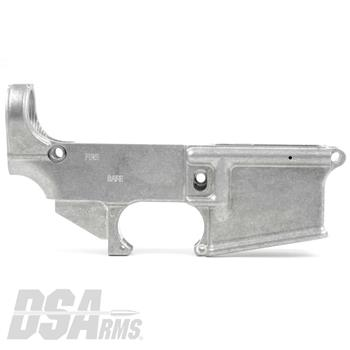 DSA AR15 80% Lower Receiver - Non Anodized