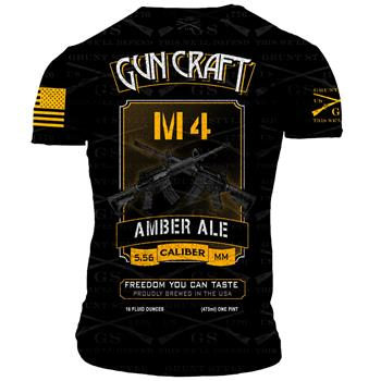2nd Amendment Brewery - Gun Craft M4 Amber Ale T-Shirt - Double Extra Large