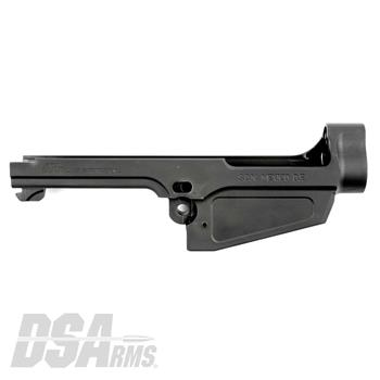 DSA SA58 Stripped Semi Auto FAL Receiver - Contract Over-Run - Type 1 Non Carry Handle Cut
