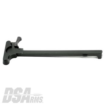 DSA AR15 Forged Steel Charging Handle with WarZ Extended Latch - Phosphate Finish
