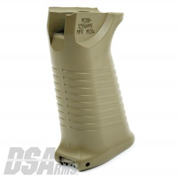 DSA FAL SA58 M249 Saw Style Pistol Grip - Dura Coat Flat Dark Earth