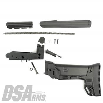 DSA FAL SA58 PARA Conversion Kit - Includes B.R.S. PARA Stock, Lower Trigger Frame, PARA Carrier, NO NOSE PARA Top Cover, Springs and PARA Sight