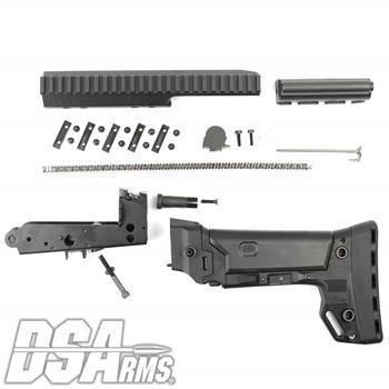 DSA FAL SA58 PARA Conversion Kit - Includes B.R.S. PARA Stock, Lower Trigger Frame, PARA Carrier, Extended PARA Scope Mount  Springs and PARA Sight