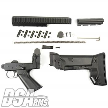 DSA FAL SA58 PARA Conversion Kit - Includes B.R.S. PARA Stock, Complete Internals, Lower Trigger Frame, PARA Carrier, Extended PARA Scope Mount  Sprin