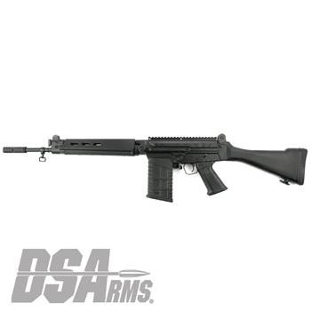 "DSA SA58 18"" Range Ready Traditional Carbine Rifle"