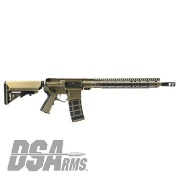 "DSArms AR15 ZM4 16"" WarZ Series 5.56 Rifle - Custom FDE"